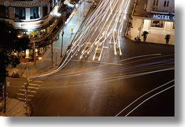aerials, asia, buildings, cityscapes, downview, horizontal, long exposure, nite, saigon, streets, structures, traffic, vietnam, photograph