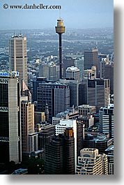 australia, buildings, cities, cityscapes, skyscrapers, space needle, structures, sydney, vertical, photograph