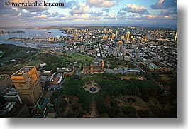 aerials, australia, buildings, cityscapes, clouds, horizontal, nature, sky, structures, sydney, photograph