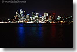 australia, buildings, cityscapes, horizontal, nite, structures, sydney, photograph