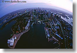 aerials, australia, buildings, cityscapes, dusk, horizontal, nite, opera house, structures, sydney, photograph