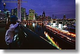 australia, boats, buildings, cityscapes, horizontal, nite, people, restaurants, rivers, structures, sydney, tourists, womens, photograph