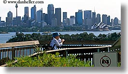 australia, buildings, cityscapes, horizontal, no camera, opera house, people, signs, space needle, structures, sydney, womens, photograph