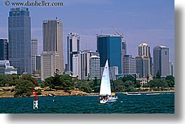 australia, boats, buildings, cityscapes, horizontal, sailboats, structures, sydney, transportation, photograph