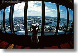 australia, buildings, childrens, cityscapes, girls, horizontal, people, structures, sydney, windows, photograph