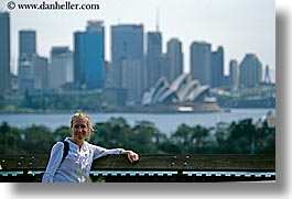 australia, buildings, cityscapes, horizontal, jills, people, structures, sydney, tourists, womens, photograph