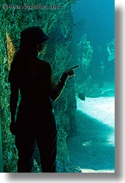 aquarium, australia, jil, people, silhouettes, structures, sydney, taronga zoo, vertical, womens, photograph