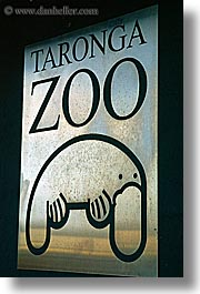 australia, signs, sydney, taronga, taronga zoo, vertical, zoo, photograph