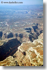 aerials, california, canyons, dry, landscapes, nature, scenics, vertical, views, west coast, western usa, photograph