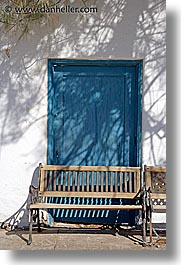 amargosa, benches, california, doors, vertical, west coast, western usa, photograph