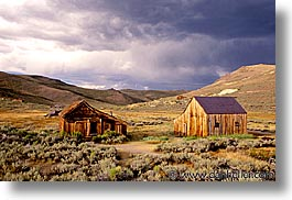 bodie, california, exteriors, ghost town, horizontal, state park, west coast, western usa, photograph
