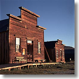 bodie, california, exteriors, ghost town, gifts, shops, square format, state park, west coast, western usa, photograph