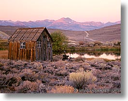 bodie, california, exteriors, ghost town, horizontal, squares, state park, sunrise, west coast, western usa, photograph