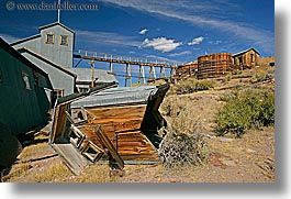 antiques, bodie, california, ghost town, gold, gold mine, horizontal, mill, mine, state park, west coast, western usa, photograph