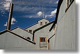 antiques, bodie, california, clouds, ghost town, gold, gold mine, horizontal, mill, mine, state park, west coast, western usa, photograph
