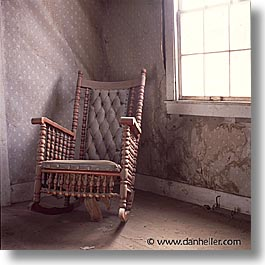 Rocking Chair & Photos/Pictures of Homes of Bodie