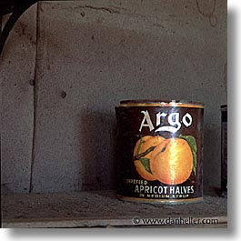 antiques, argo, bodie, california, ghost town, kitchen, peaches, square format, west coast, western usa, photograph
