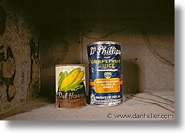 antiques, bodie, california, cans, ghost town, horizontal, kitchen, west coast, western usa, photograph