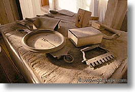 antiques, bodie, california, ghost town, horizontal, kitchen, tables, things, west coast, western usa, photograph