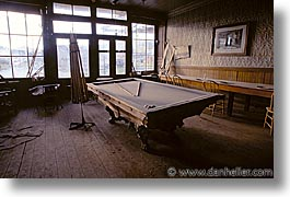 antiques, billiard, bodie, california, ghost town, horizontal, west coast, western usa, photograph