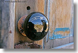 antiques, bodie, california, doors, ghost town, horizontal, knobs, reflections, west coast, western usa, photograph
