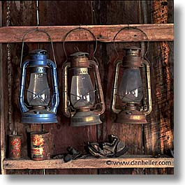 antiques, bodie, california, ghost town, lamps, square format, west coast, western usa, photograph