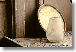 antiques, bodie, california, ghost town, horizontal, plates, vases, west coast, western usa, photograph