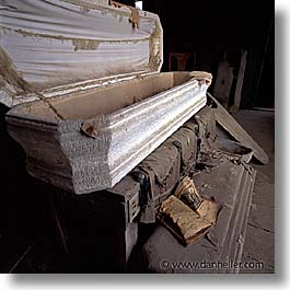 antiques, bodie, california, coffin, ghost town, morgue, square format, west coast, western usa, photograph