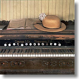 antiques, bodie, california, ghost town, music, organ, square format, west coast, western usa, photograph