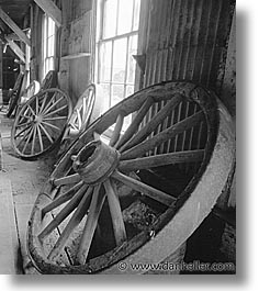 antiques, black and white, bodie, california, ghost town, vertical, west coast, western usa, wheels, photograph