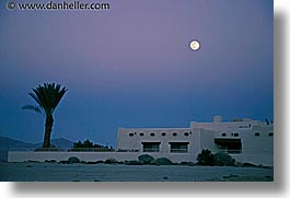 borrego, borrego springs, california, horizontal, moon, west coast, western usa, photograph