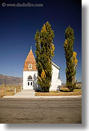 bridgeport, california, churches, community, vertical, west coast, western usa, photograph
