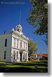 bridgeport, california, courthouse, vertical, west coast, western usa, photograph