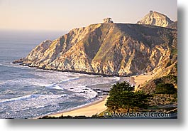 bay, cal coast, california, california coast, half, half moon bay, horizontal, moon, west coast, western usa, photograph
