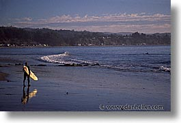 cal coast, california, california coast, half moon bay, horizontal, surfers, west coast, western usa, photograph