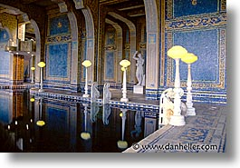 cal coast, california, california coast, hearst, hearst castle, horizontal, west coast, western usa, photograph