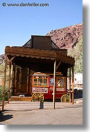 calico, california, popcorn, vertical, wagons, west coast, western usa, photograph