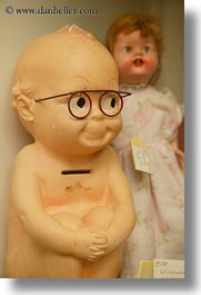 babies, bank, california, cambria, glasses, vertical, west coast, western usa, photograph