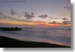 beaches, california, cambria, clouds, horizontal, long exposure, ocean, sunsets, west coast, western usa, photograph