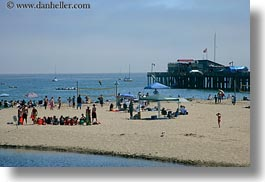 beaches, california, capitola, childrens, horizontal, west coast, western usa, photograph