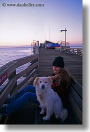california, capitola, jills, people, piers, sammy, vertical, west coast, western usa, photograph