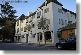 auberge, california, carmel, horizontal, hotels, houses, west coast, western usa, photograph