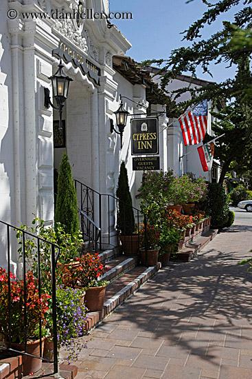 cypress inn and amercian flag. Black Bedroom Furniture Sets. Home Design Ideas