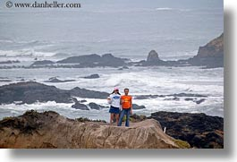 california, childrens, cliffs, coastal views, horizontal, people, west coast, western usa, photograph