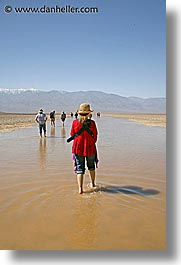 badwater, california, death valley, floods, national parks, vertical, west coast, western usa, photograph