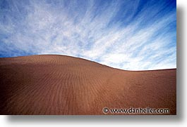 california, death valley, dunes, horizontal, national parks, sand, west coast, western usa, photograph
