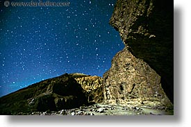 california, canyons, death valley, golden, horizontal, long exposure, national parks, nite, star trails, stars, west coast, western usa, photograph