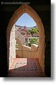 arches, california, death valley, exteriors, national parks, outside, scotty's castle, scottys castle, vertical, views, west coast, western usa, photograph