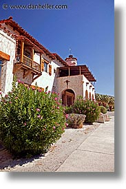 california, castles, death valley, main view, national parks, scotty, scotty's castle, scottys castle, vertical, west coast, western usa, photograph