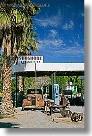 california, death valley, gas, national parks, shoshone, vertical, west coast, western usa, photograph